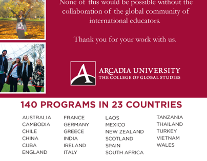 Work with The College of Global Studies