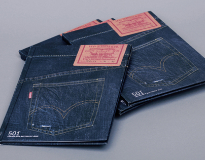 Levis® 501® 140th Anniversary Booklet