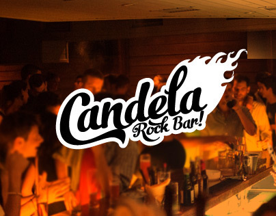 Candela, Rock Bar. Logo and Gig Posters