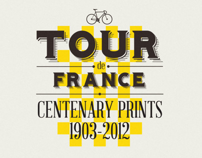 Tour de France Centenary Prints