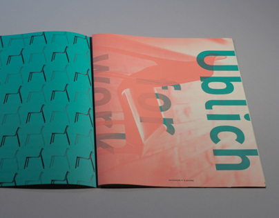 Üblich Chair: Promotional Booklet