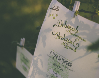 D+P Wedding Invitation
