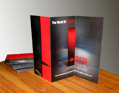 Flyer Design for Red Tape Media Group