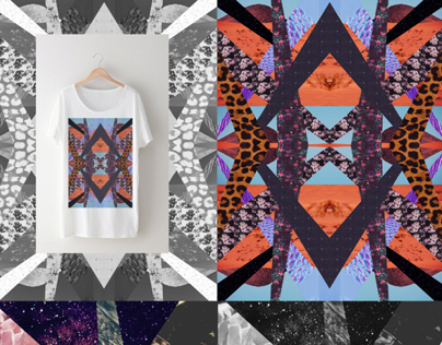 Abstract Collages for Tees