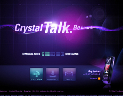 Motorola: Crystal Talk