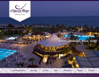 Odyssey Ridge Resort Website