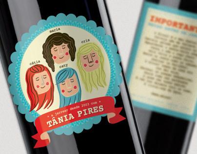 Wine label - Birthday Gift