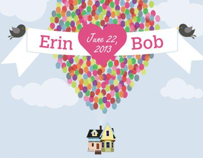 Wedding Invitation - Erin and Bob