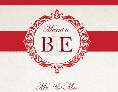 Wedding Invitation - Ben and Erin