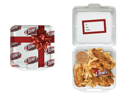 Raising Cane's Gift Card and Gift Card Holder