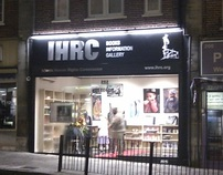 IHRC Bookstore Sign