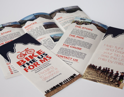 Bike the US for MS Brochure