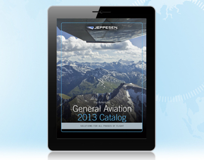 iPad Catalog App for Jeppesen General Aviation 2013