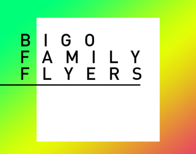 Bigofamily Flyers