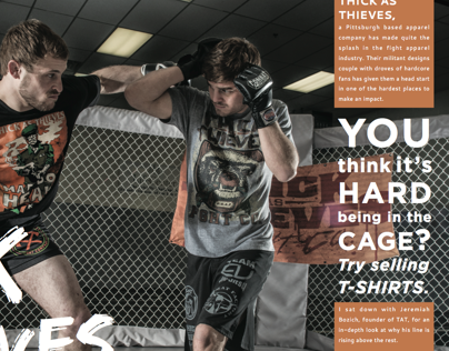 Client: BMG Media | Knuckle Dragger Magazine