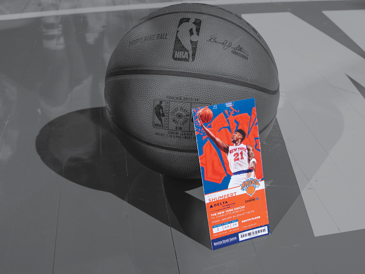 NY Knicks 2013-14 Season Tickets