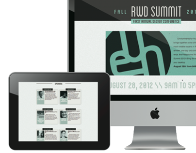 RWD Summit Website