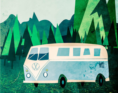 Campervan Illustrations