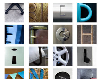 Found Type Alphabet