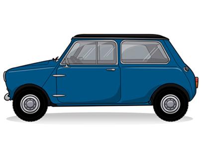 Vintage Mini Vector Icon