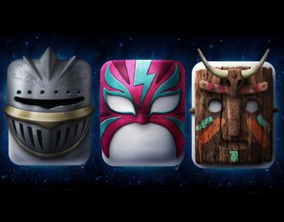 Chiclets Masks