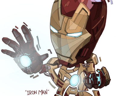 Iron man - Mark 42.