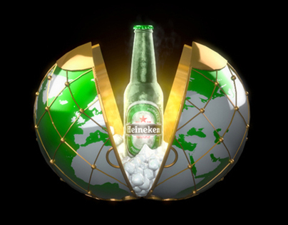 Heineken | 3D Hologramic Animation