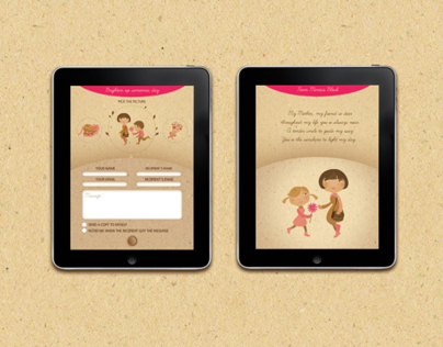 24 Mothers day icon set for iPad