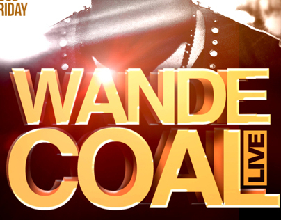 Wande Coal LIVE in Birmingham