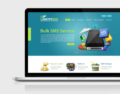 EGYPTSMS Website