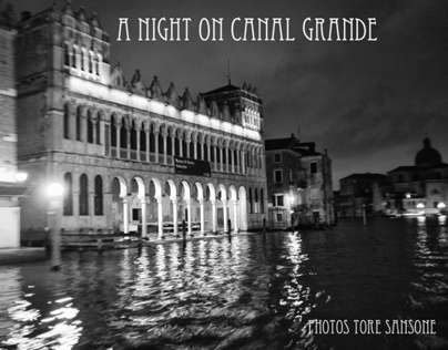 A Night on Canal Grande