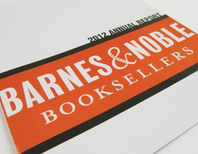 Barnes & Noble 2012 Annual Report
