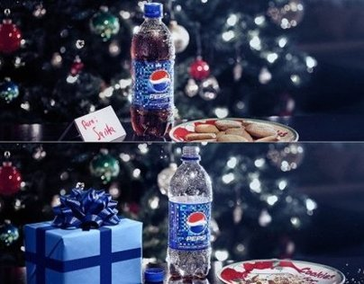 Pepsi X-mas Billboards