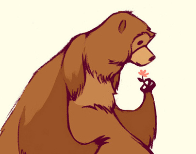 Bear Character Design