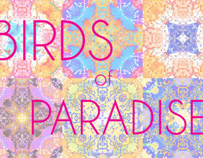 Birds of Paradise: Islamic Print Design