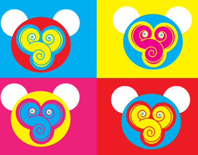 Shoujo Spin monkey fun logo