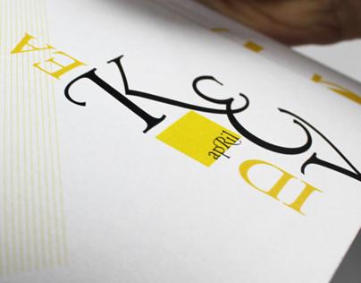 Eight Texts   Typographic Booklet