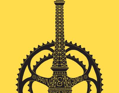 Le Tour de France 100th Anniversary Poster