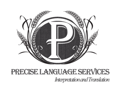 Precise Language Services Branding