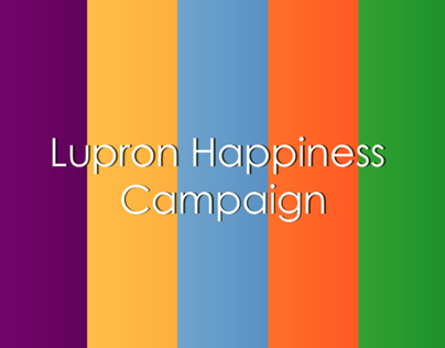Lupron Happiness Campaign market-plan