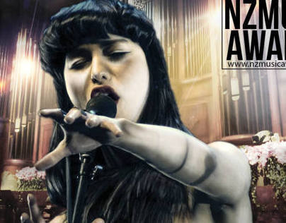 Photoshop technique for NZ Music Awards