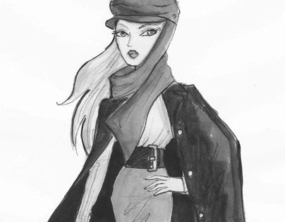 Fashion Illustrations for L FOR LAZARUS