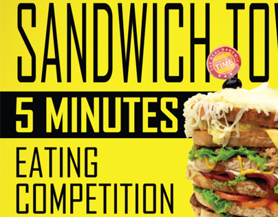 Sandwich Tower Eating Competition