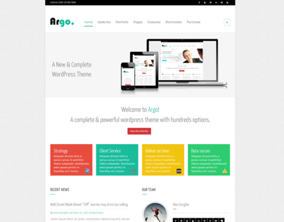 Argo - A Complete e-Shop WordPress Theme