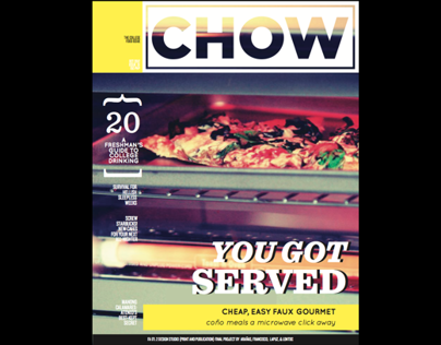school project: Chow Magazine