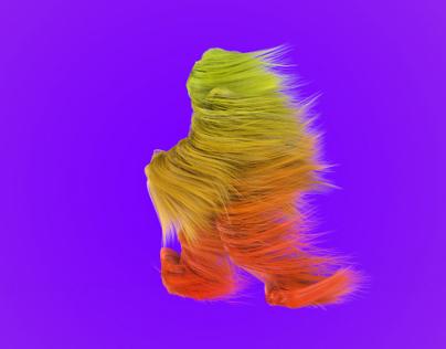 C4D Hair