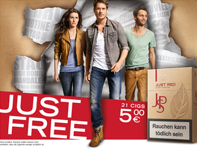 JPS JUST FREE Kampagne