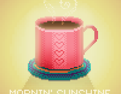 Coffee Pixel Art
