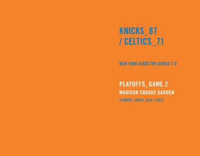 NYK/BOS Game 2 Infographic