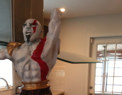 Creating Kratos God of War WIP